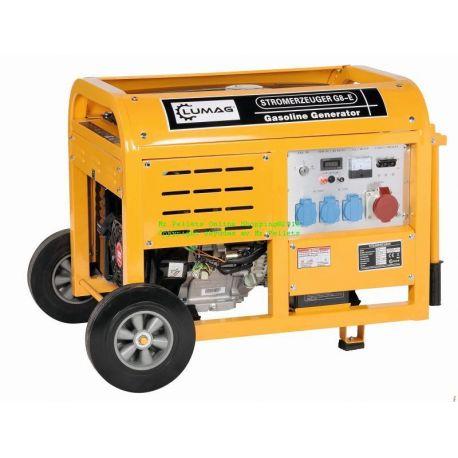 Elverk 8 kW Kontinuerlig effekt 7 kW