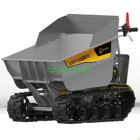 Eldriven Minidumper MD600PRO-E