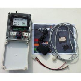 GSM-Larm till pellets-brännare-pellets kamin