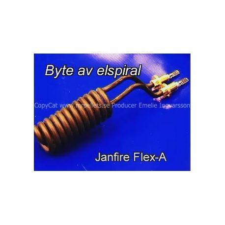 Film byte av elspiral Janfire Flex-A