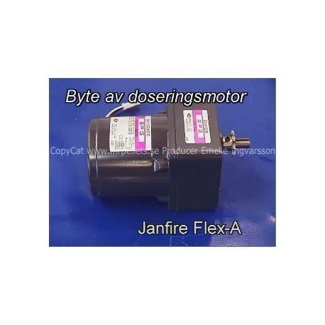 Film: Byte av dosermotor Janfire Flex-a