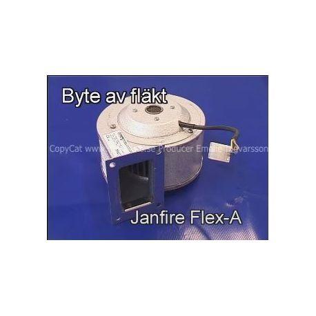 Film byte av fläkt Janfire flex-a